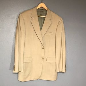 Canali tan suit jacket 54R